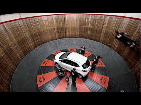 Car ride wall of death