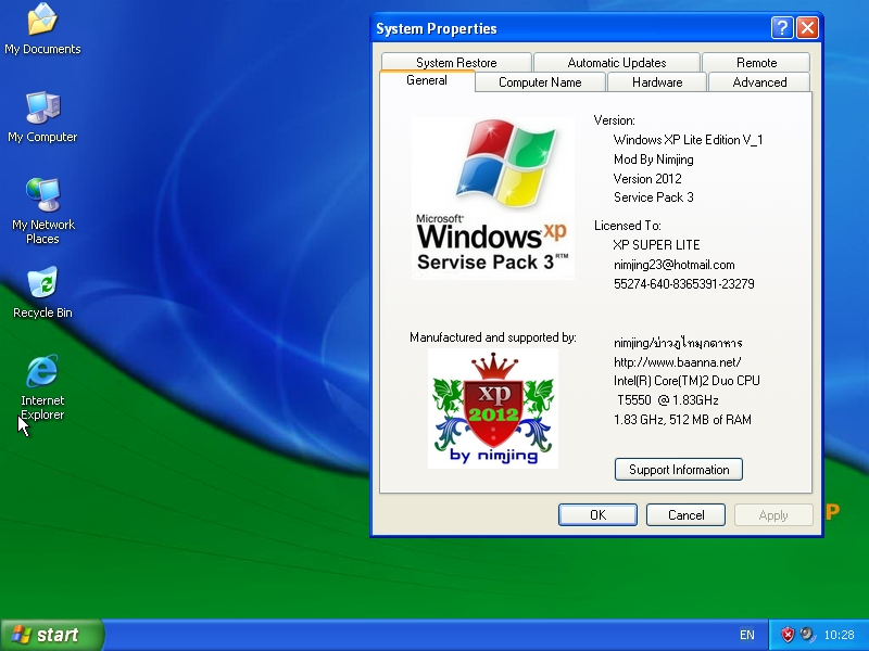 Microsoft Windows XP Pro SP3 Fully Updated 2020 ISO + WIM ...