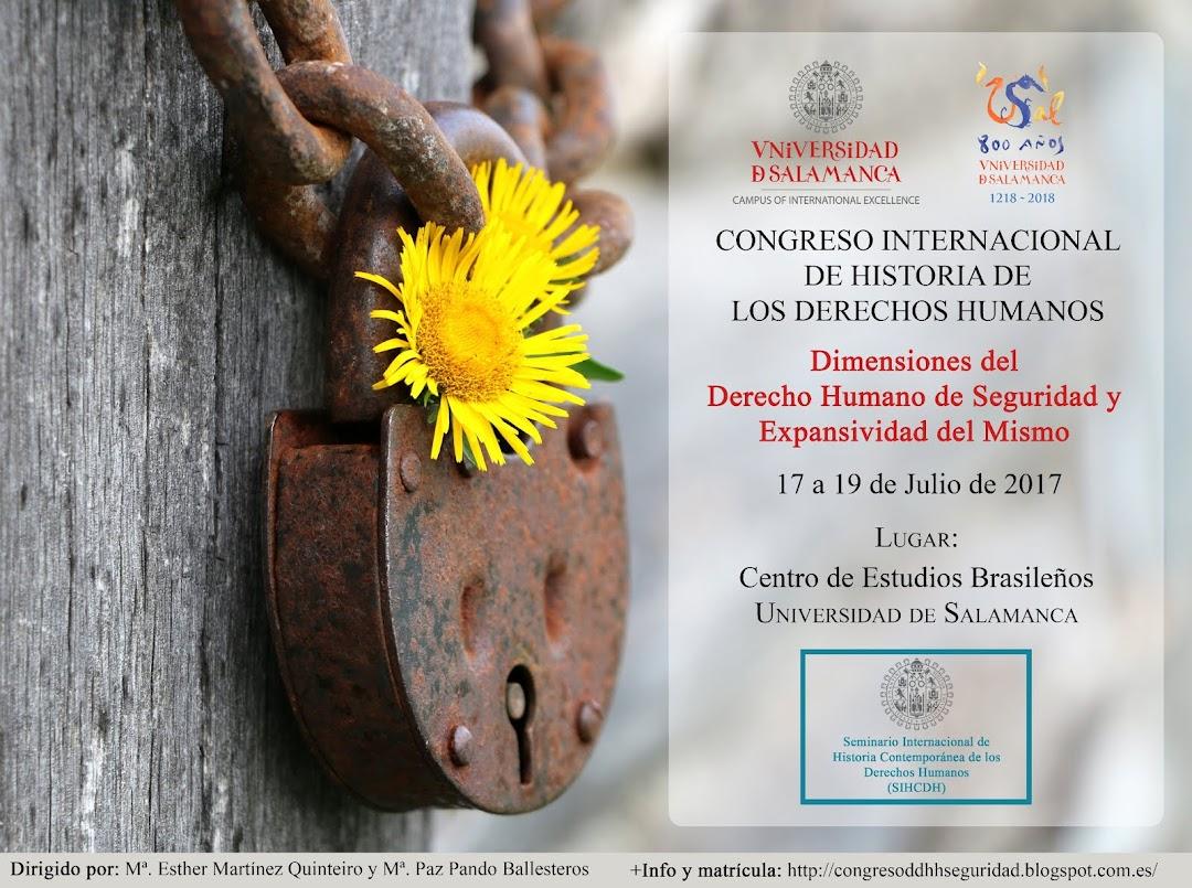 Congreso Internacional de Historia de los Derechos Humanos