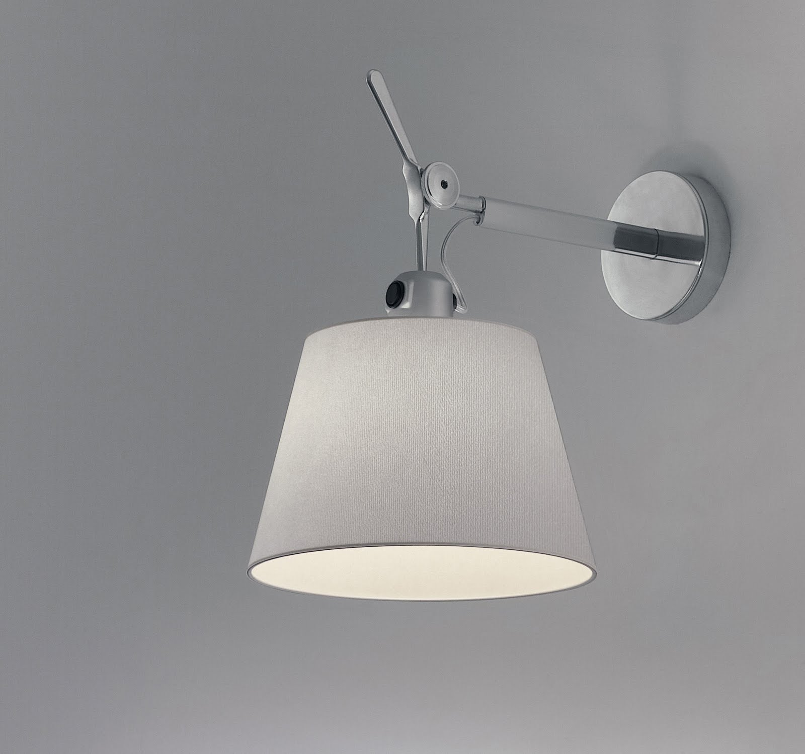 Artemide Tolomeo Wall Lamp Shade Light All Colors Wall Lamp