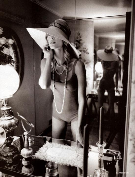 Gisele Bundchen in High Summer editorial | Vogue UK June 2004 (photography: Carter Smith)