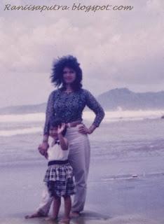 aku dan ibu di pelabuhan ratu