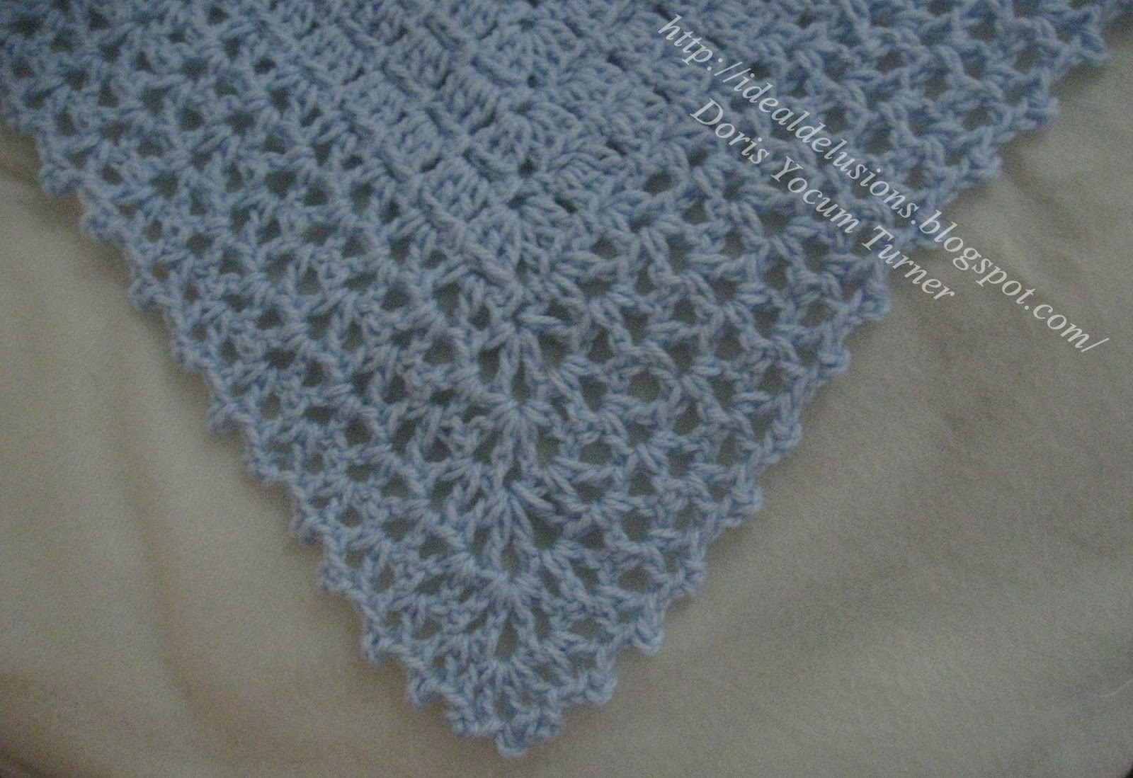 Basic crochet triangle shawl pattern dancox for ideal delusions so simple box stitch shawl basic crochet triangle shawl pattern bankloansurffo Image collections