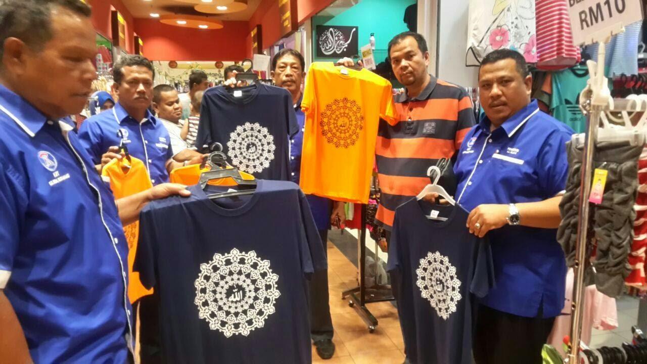 T-shirt Kalimah Allah di jual di Tesco Semenyih bukan di India
