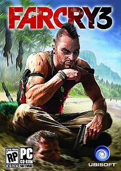 Far Cry 3 official cover art front