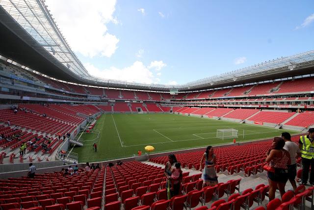 Fotos da Itaipava Arena Pernambuco, em Recife