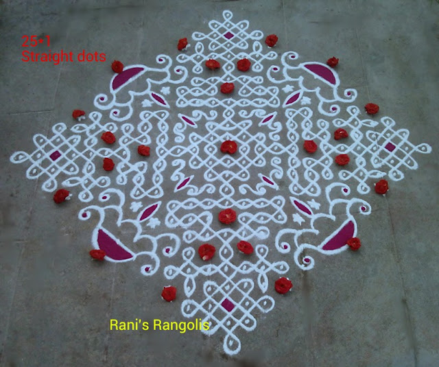 Rangoli with Dots
