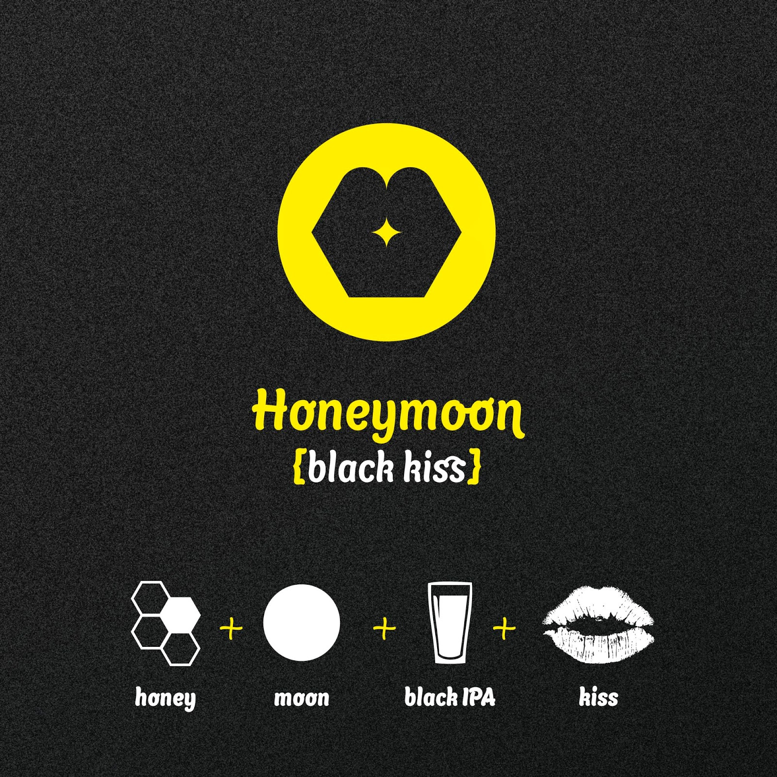 Martin Fek's Honeymoon Black Kiss Design
