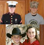 Josh, AJ, Jake, Lyndsey,