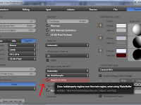membuat toolbar transparan di blender