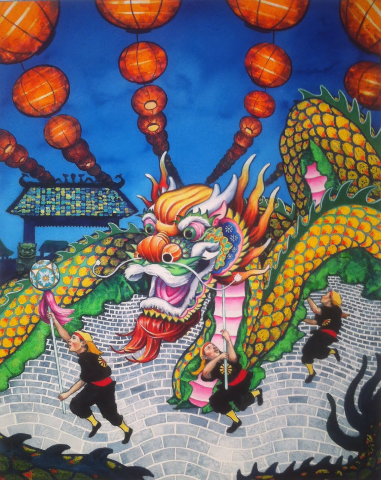 Drachen Fest