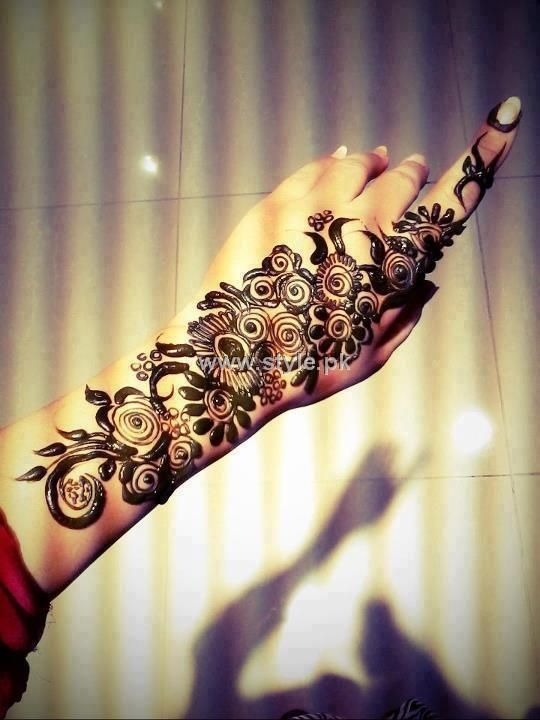 Mehndi Designs For Girls : Indian mehndi designs for girls fashionip