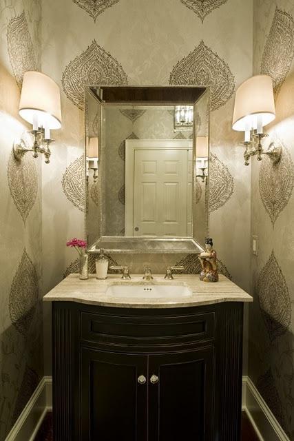 ideas para decorar baño social ~ dikidu.com - Decoracion Bano De Visitas Pequeno