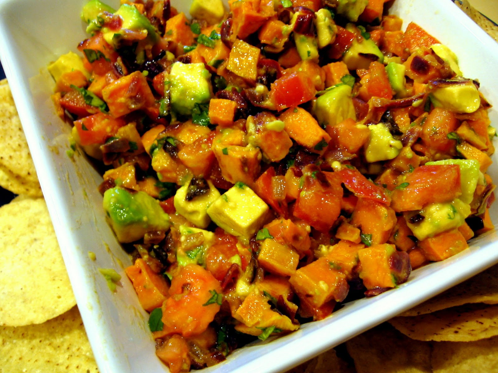 Food Tastes Good!: Roasted Sweet Potato Salsa