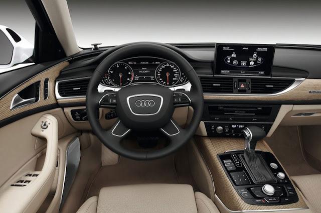 2012 Audi A6 Avant Front Interior