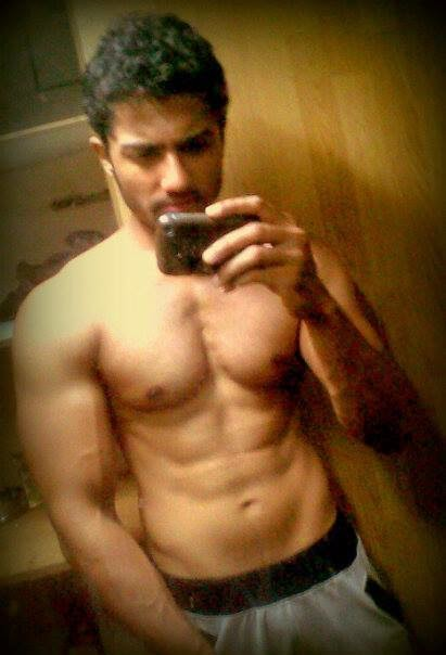rehan roy in a hotter and sexier avtar just look at those red undies ...