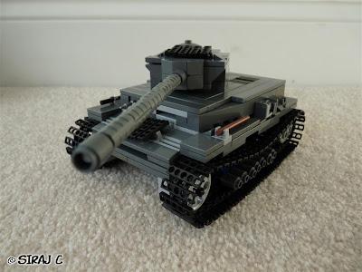 Lego -  Panzer IV ausf. F2 v2 Tank