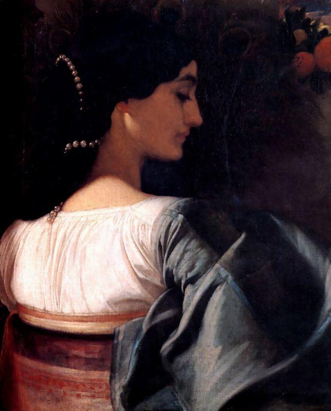 lord frederick leighton italian girl