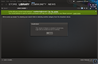 steam for linux beta