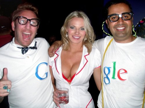 funny picture with google boobs