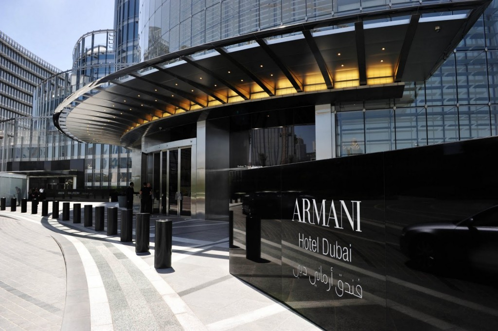 Passion for luxury armani hotel in dubai burj khalifa tower for Hotel de dubai