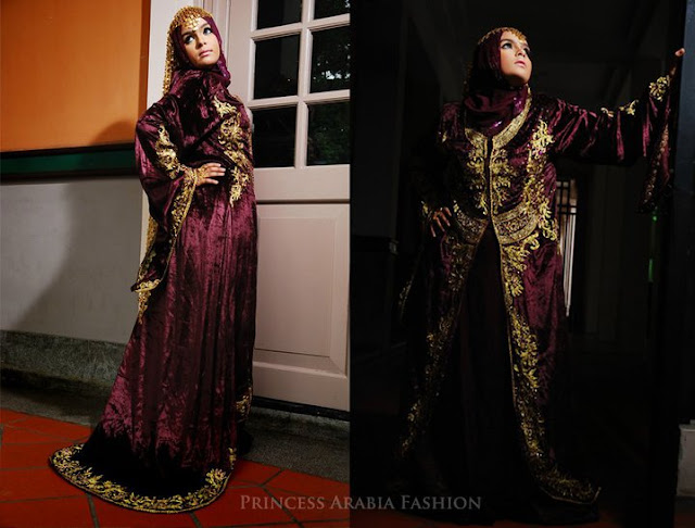 Bridal hijab inspiration princess arabia fashion the for A princess bride couture bridal salon