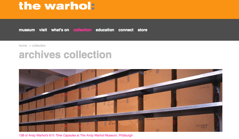 http://www.warhol.org/collection/archives/