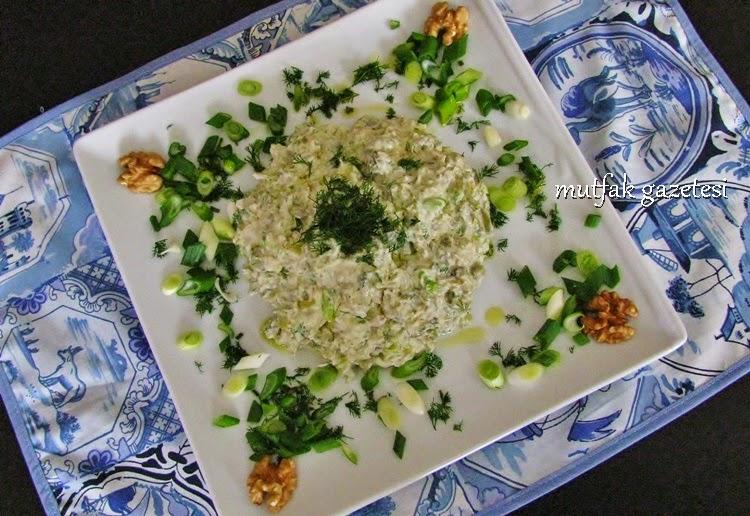 Taze bakla salatası-kupanista