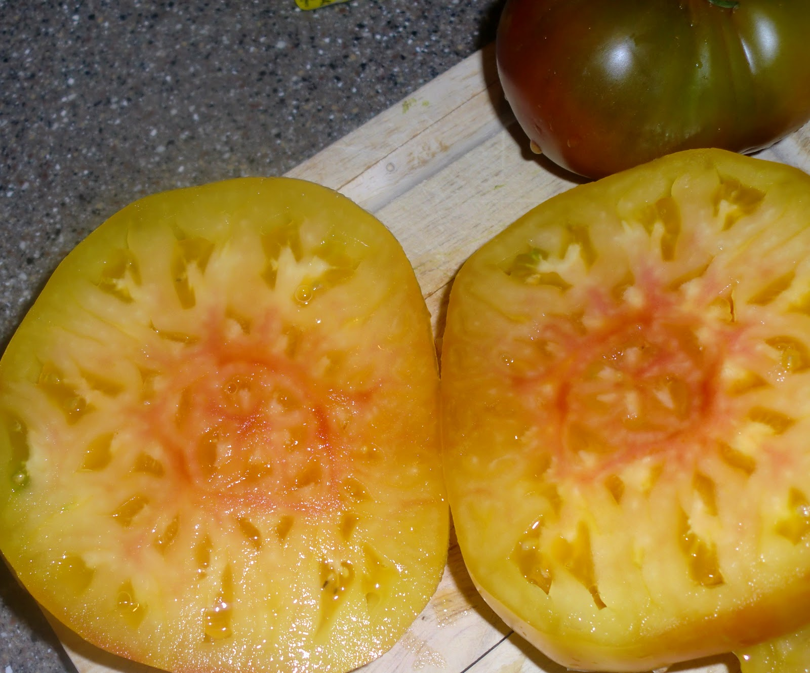 ... Monday Recipe: Roasted Heirloom Tomatoes w/ Fontina and Thyme