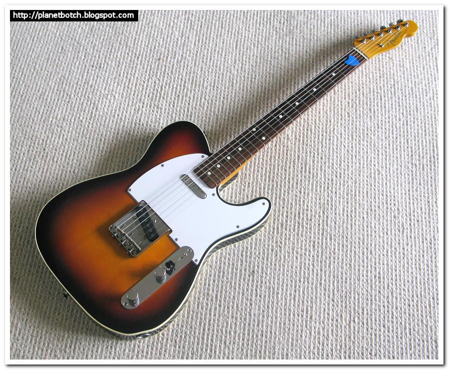 Fender MIJ '62 Custom Telecaster reissue sunburst