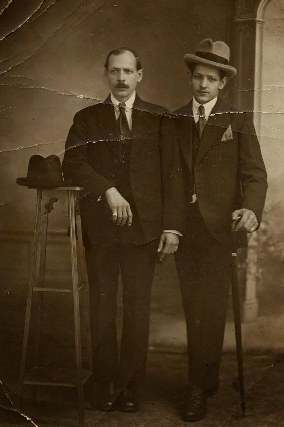 Mon père et son oncle