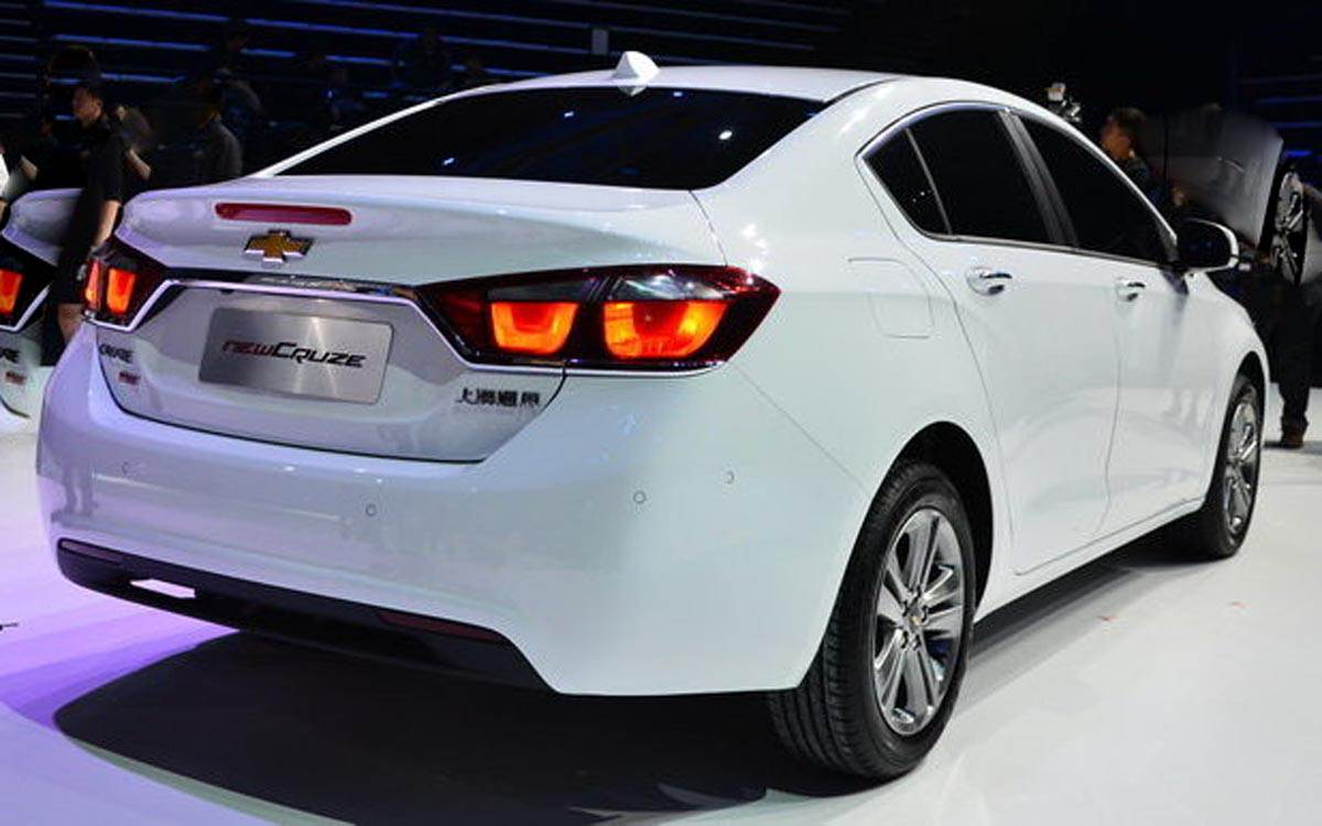 2015 Chevy Cruze Trunk Release