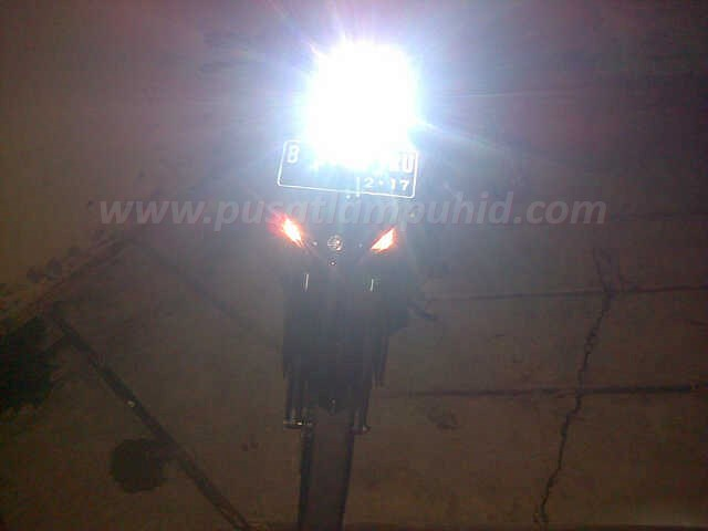 Lampu HID Motor Xenon RICHTER Jupiter MX putih 6000k