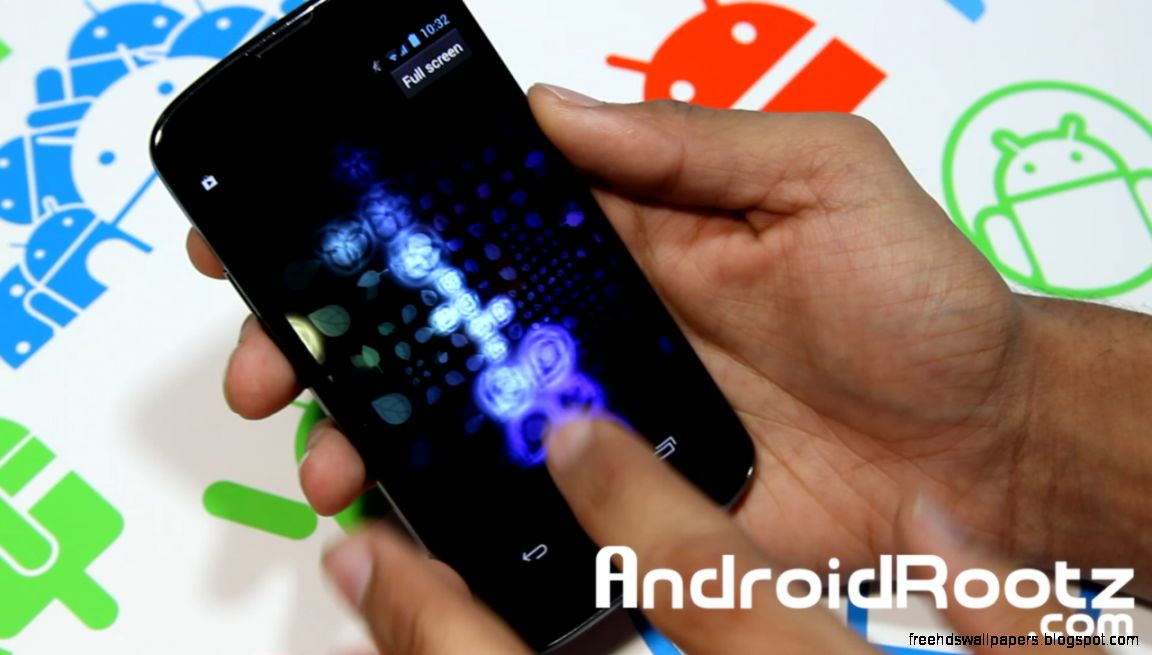 Interactive Live Wallpaper Android
