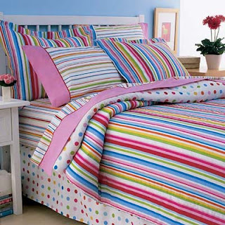 colorful bed sheet