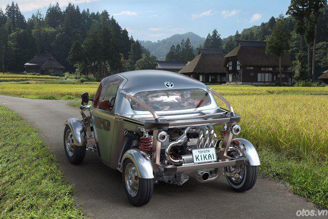 Những mẫu xe kỳ lạ của Toyota tại Tokyo Motor Show 2015