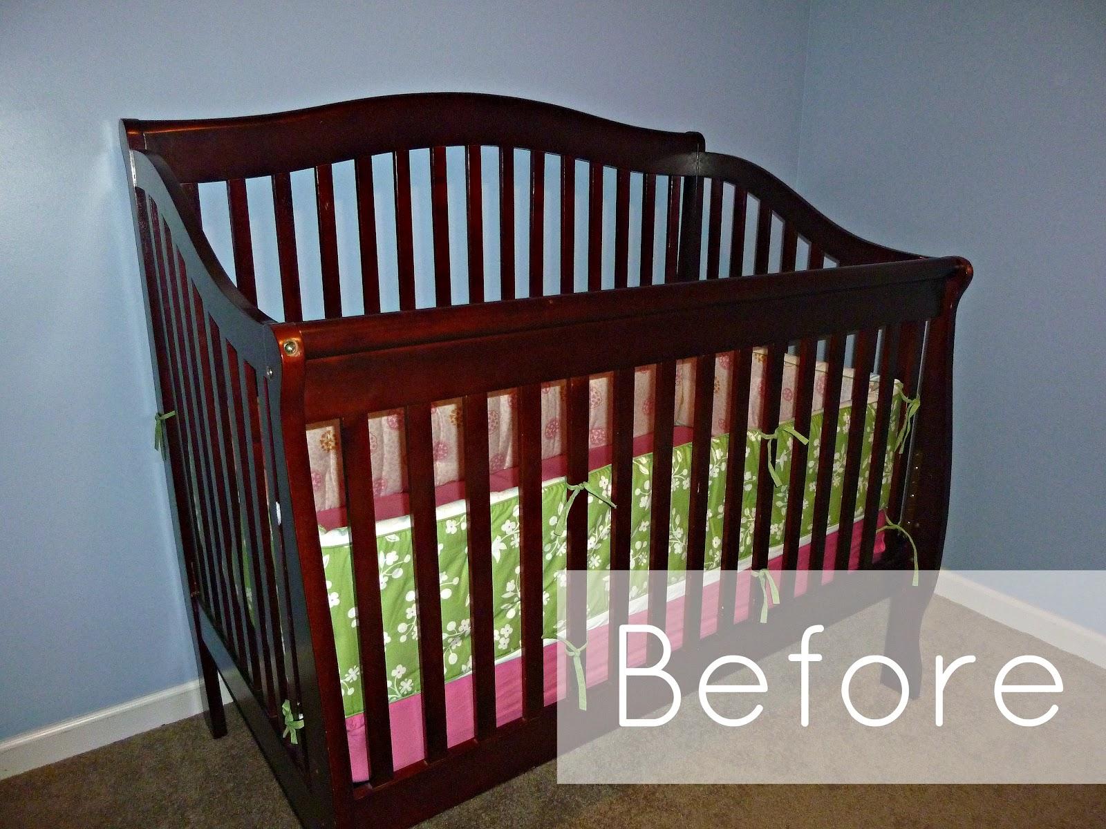 Baby cribs on craigslist - Spray Painted Crib