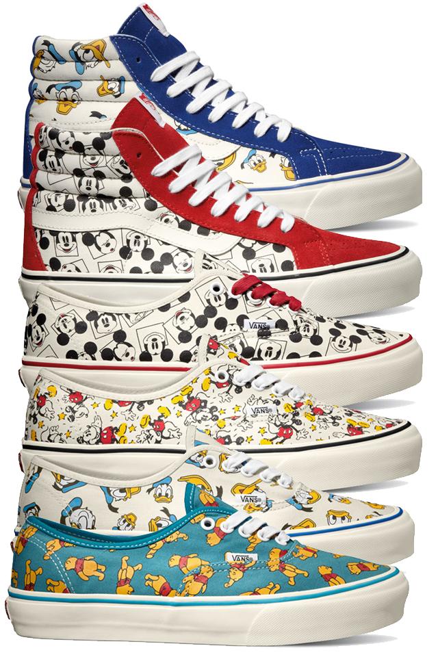 vans collaborazione scarpe