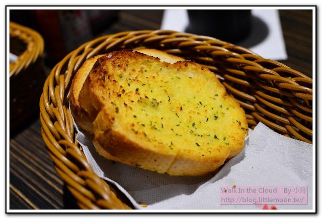 大蒜麵包微焦