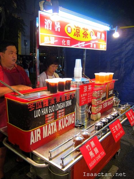 Taman Connaught Pasar Malam food