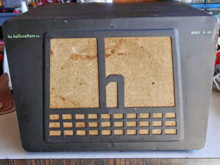 R-46 Hallicrafters Speaker