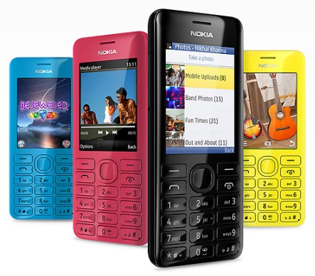 Nokia Asha 205 dan Asha 206 Ponsel Murah Harga Terjangkau