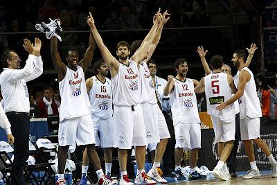 BALONCESTO-España campeonísima de Europa tras batir a Francia con claridad