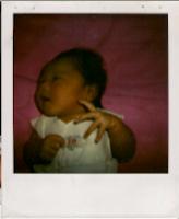 Saat saya baru saja lahir