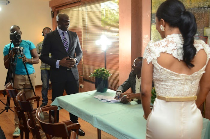 toke makinwa wedding fake