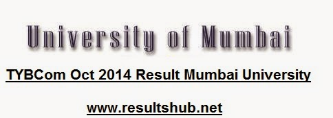 TYBCom Oct 2014 Result Mumbai University