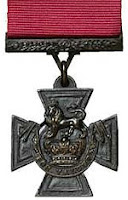 A Victoria Cross medal