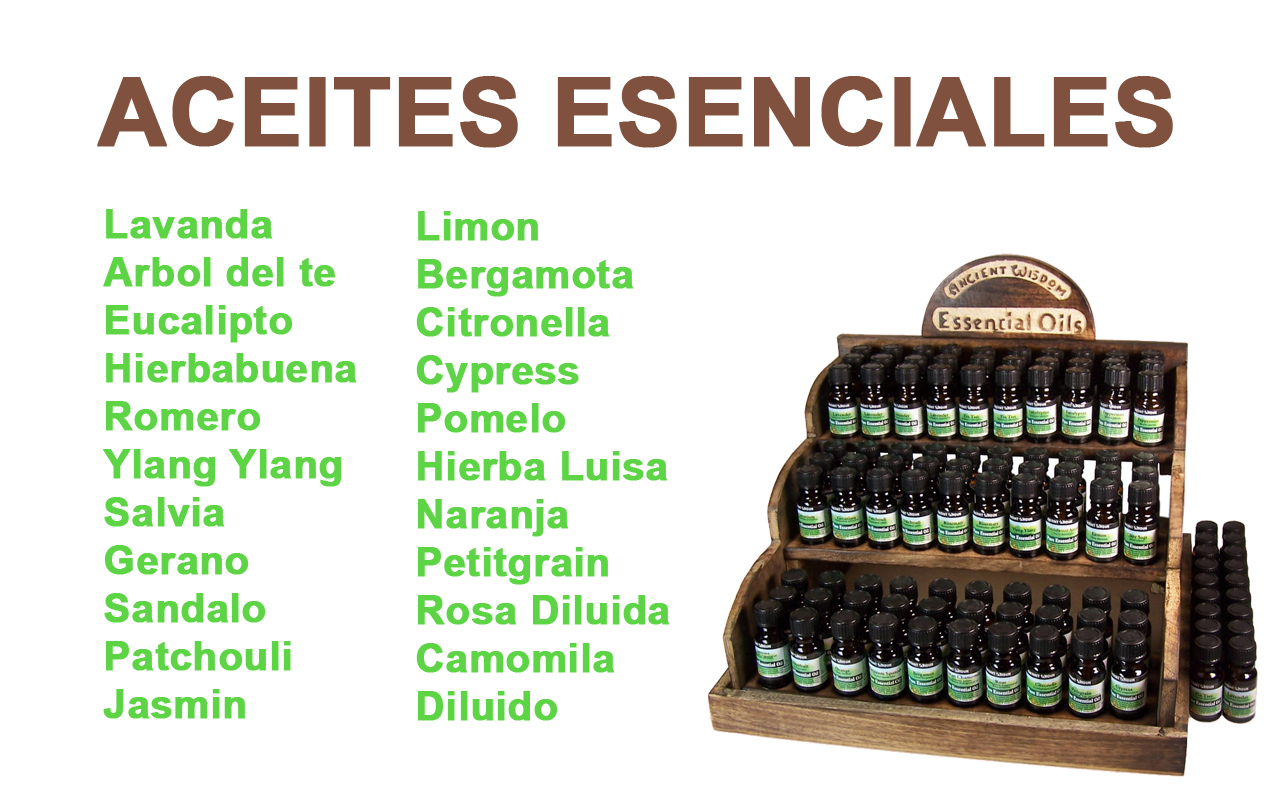 J U00f3diz Santutxu ACEITES ESENCIALES