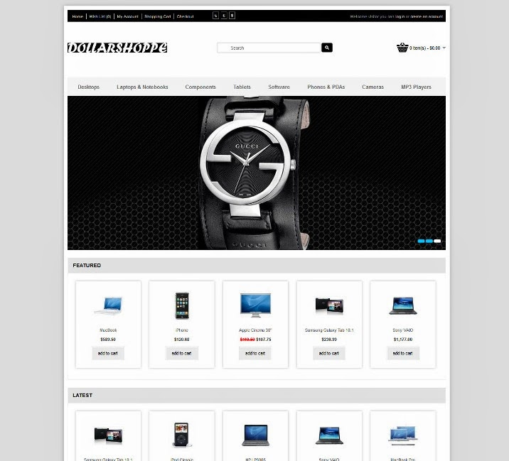 Uber Clean and profession opencart theme