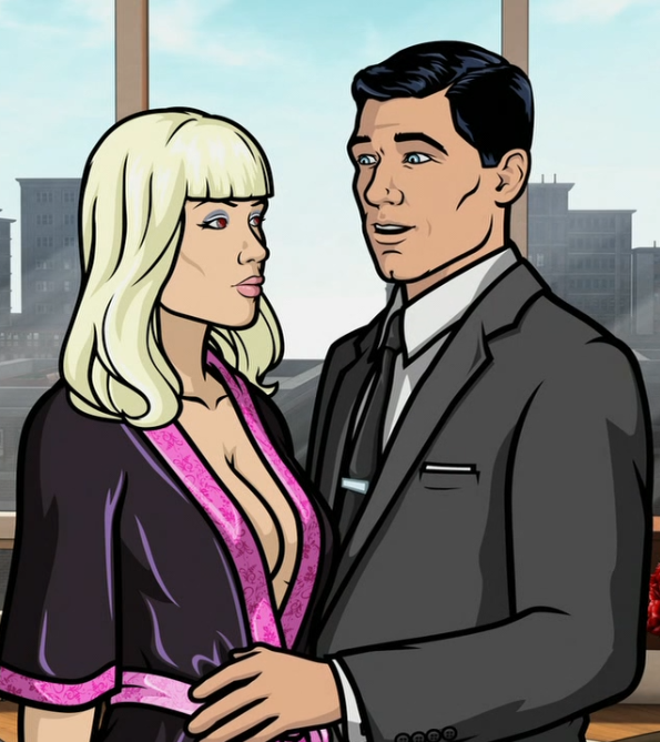 Archer experiences sympathy wood, which sounds like the name of Natalie Wood's hippie daughter.
